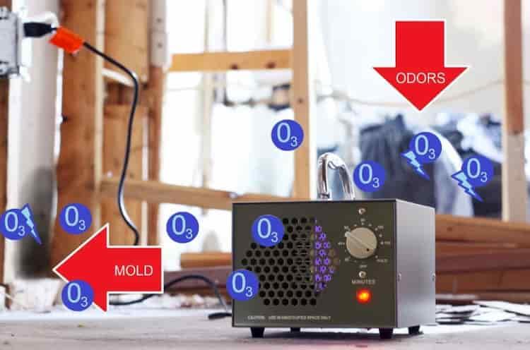 Generador de ozono profesional Eco-Worthy HE-150